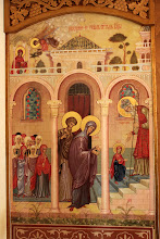 """Photo: С. Богдан, храмовата икона на празника """"Въведение на Пресвета Богородица""""."""