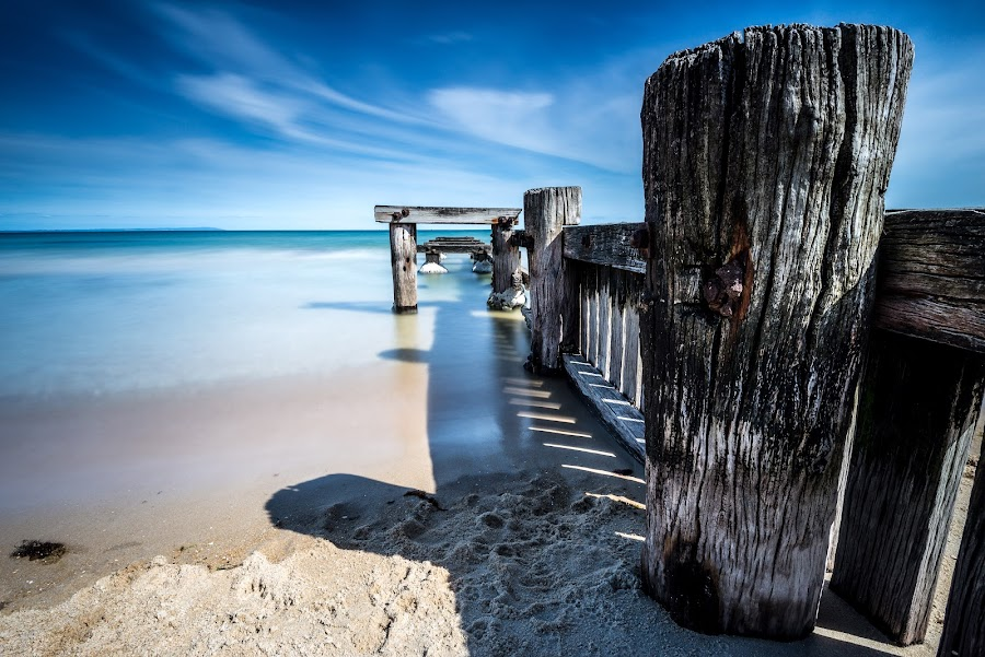 Blue sunday by Alan Wright - Landscapes Beaches