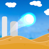 Sand Jump ball rider  : Snow Mountains game