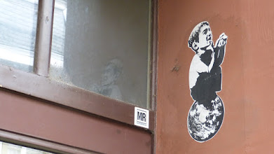 Photo: Paste Up; Unknown Artist