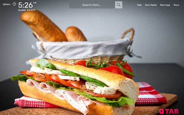 Food Wallpapers HD Theme