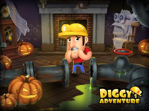 Diggy's Adventure: Escape this 2D Mine Maze Puzzle screenshots 1