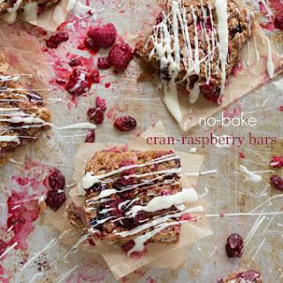{No-Bake} Cran-Raspberry Bars