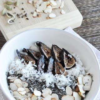 Fig Almond & Cardamom Oatmeal Recipe