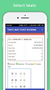 TNSTC - (SETC) OFFICIAL BUS TICKET BOOKING - náhled