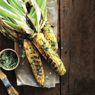 Gourmet Bbq Corn on the Cob With Herb Butter.
