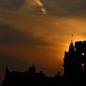 Calton Hill  by VAM Photography - Landscapes Sunsets & Sunrises ( edinburgh, sunset, castle, places, travel, scoltand,  )