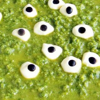 Spooky Green Eyeball Soup