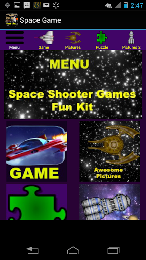 Space Shooter Games Kit