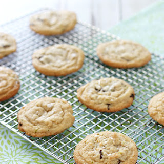 Lime and Dark Chocolate Chunk Cookies Recipe
