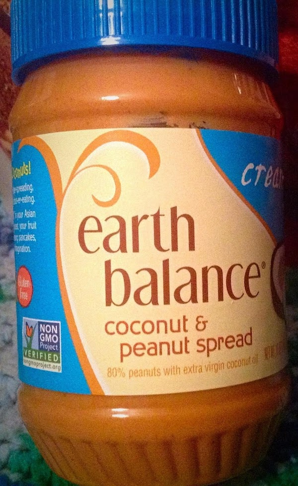 Add coconut & peanut spread**, ground flaxseed***, and crushed toasted coconut chips#;  pulse...