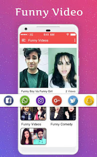 Download Funny Videos For Social Media For PC Windows and Mac apk screenshot 6
