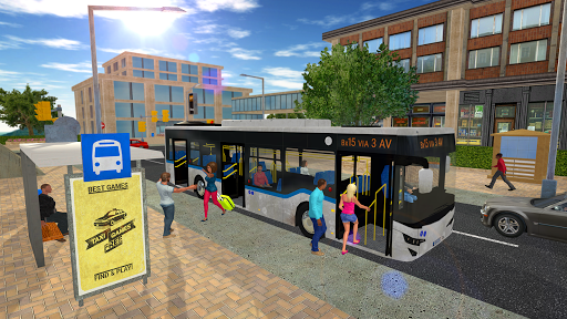 Bus Game Free - Top Simulator Games 1.2.0 Cheat screenshots 2