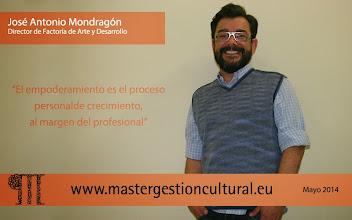 Photo: José Antonio Mondragón Director de Factoría de Arte y Desarrollo @factoriarte