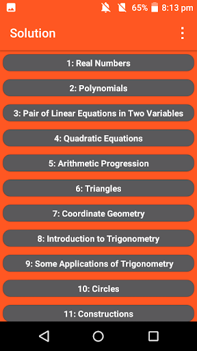 Class 10th Math Solution screenshot 2