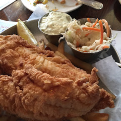Gluten Free Fish and Chips. Amazing!!