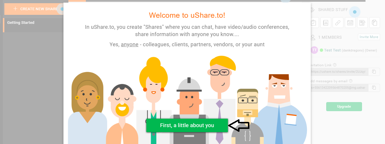 uShare Web Portal Software