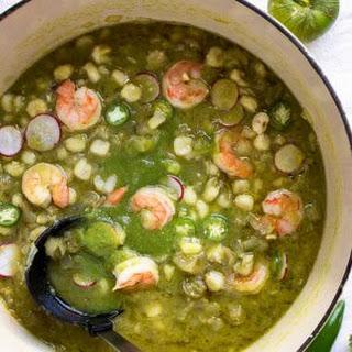 Shrimp Posole Verde