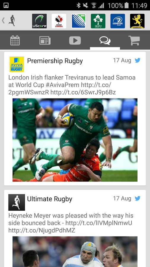 Ultimate Rugby- screenshot