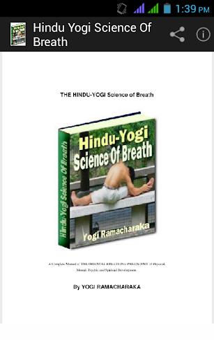 Hindu Yogi Science of Breath