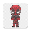 Superhero Coloring By Number - Pixel Art APK