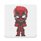 Superhero Coloring By Number - Pixel Art icon