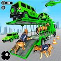 US Army Transport Truck: Multi Level Parking Games icon