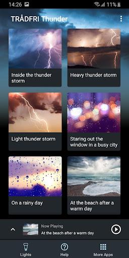Tradfri Thunder for TRu00c5DFRI  screenshots 1