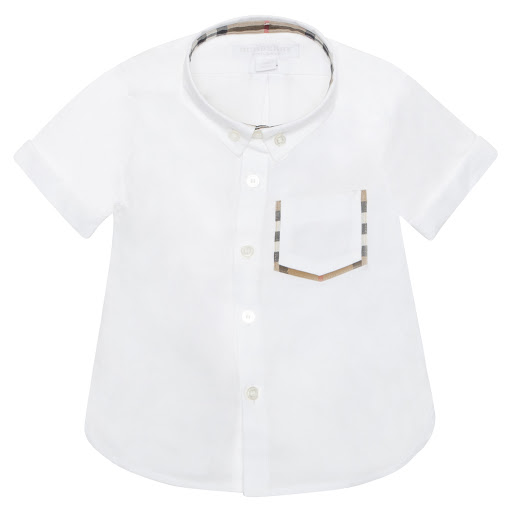 Thumbnail images of Burberry White Cotton Shirt