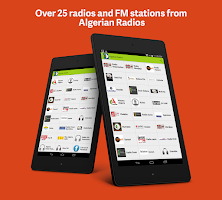 Screenshot of Algeria Radio