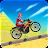 Desert Motor Cycle Racing Icône