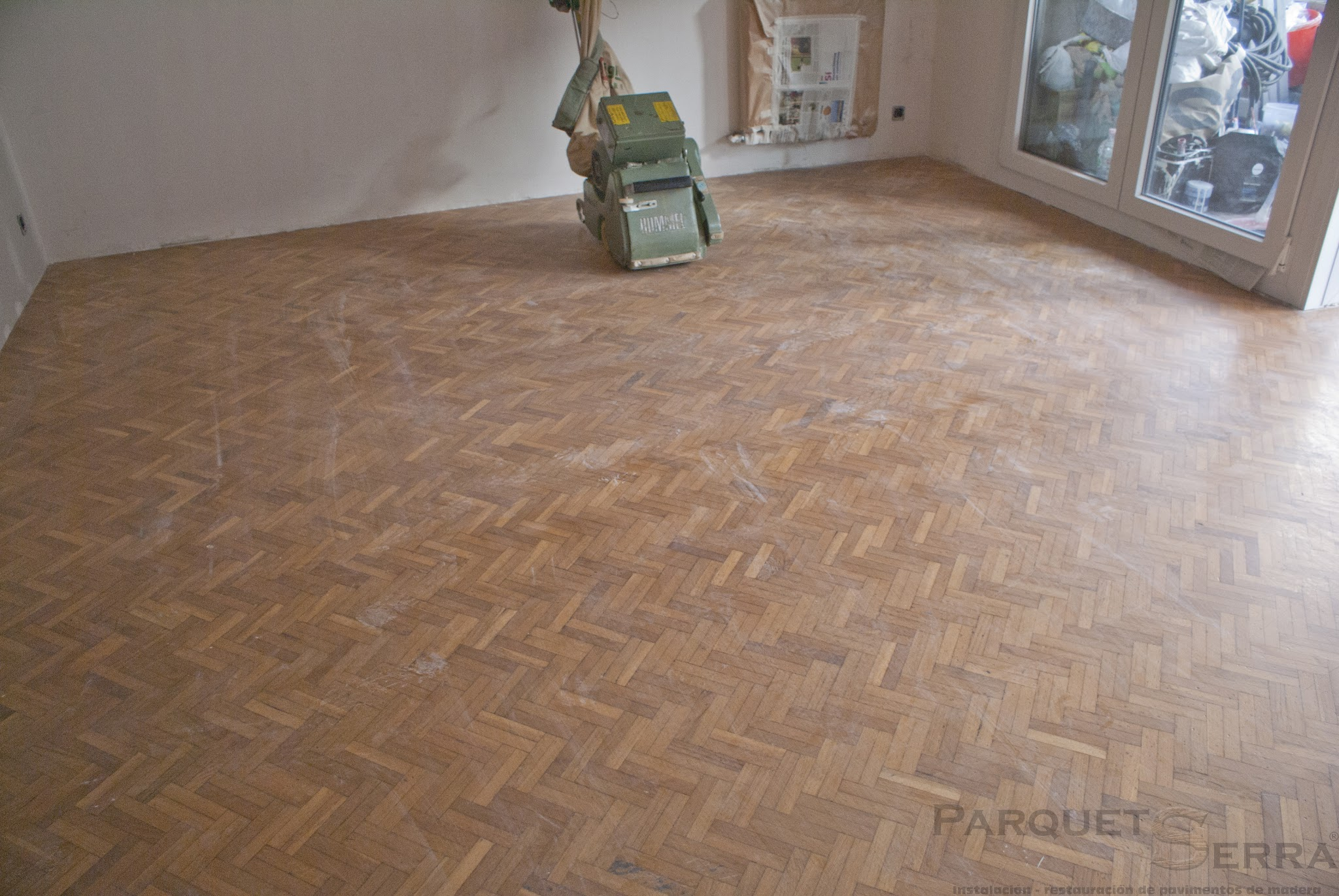 Photo: Acuchillado de parquet