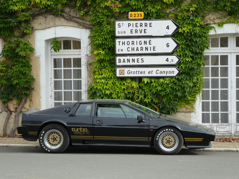 Lotus Esprit Turbo Hire Stanwick