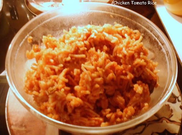 Chicken Tomato Rice Recipe