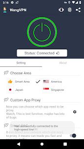 Wang VPN ❤️- Free Fast Stable Best VPN Just try it 2