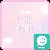 pastel planet 카카오톡 테마