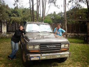 Photo: Diana & Sebastian from Germany/Switzerland, Karen Camp, Nairobi