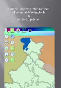 Mapboard Lite: Map Drawing App- screenshot thumbnail