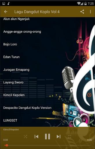 لقطات شاشة Lagu Dangdut Koplo Terbaru 4