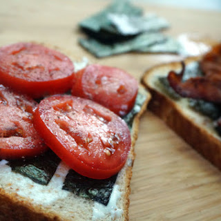 BST – Bacon Seaweed & Tomato Sandwich