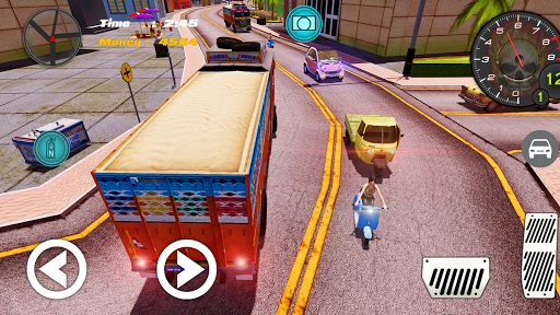 Indian Truck ( Lorry ) Driver 1.0 screenshots 3