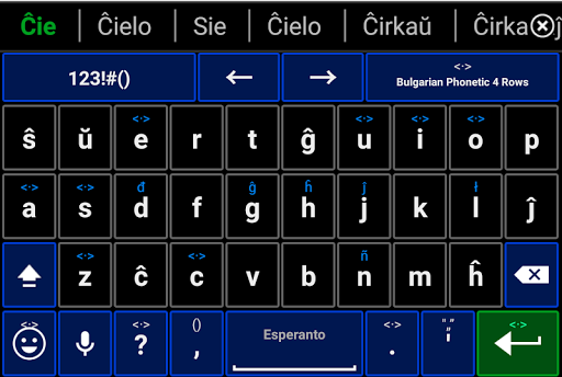 Esperanto Keyboard Emoji Dict