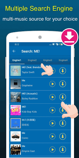 Free Music Downloader + Mp3 Music Download Songs 1.0.5 Screenshots 3