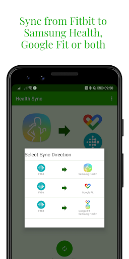 Capturas de pantalla de Health Sync 5
