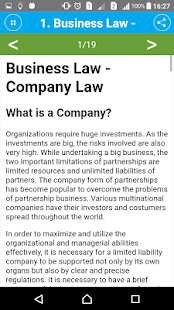 Learn Business Law- screenshot thumbnail