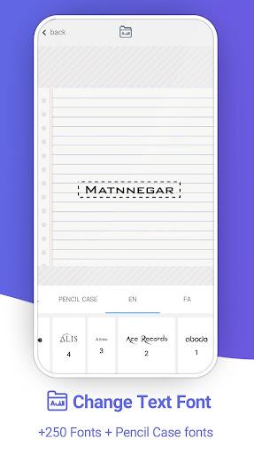 Matnnegar (Write On Photos) screenshots 3