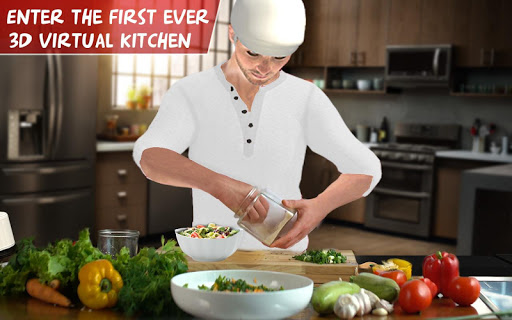 Virtual Chef Cooking Game 3D: Super Chef Kitchen apkdebit screenshots 10