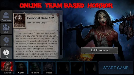 Horrorfield Mod Apk 1.2.11 [Map Hack/Freeze + Full Unlocked] 1