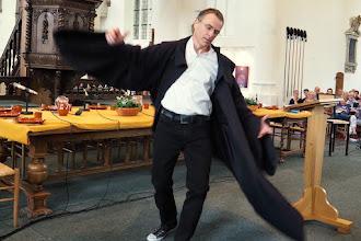Photo: Kees van der Zwaard speelt 'Luther'