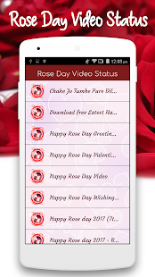 Rose Day Video Status - náhled
